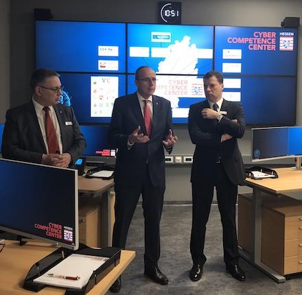 Innenminister Peter Beuth eröffnet das Hessen Cyber Competence Center (Hessen3C).