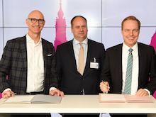 Stadtwerke Dresden und Deutsche Telekom starten Pilotprojekt zum intelligenten Stromnetz-Management.