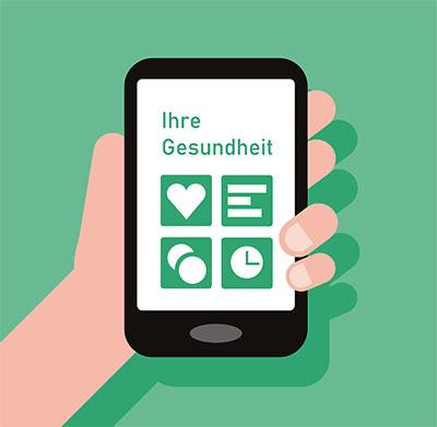 Bevölkerung wünscht sich mehr Online-Service im Gesundheitswesen.