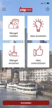 Die App ffm.de soll die Bürgerbeteiligung in Frankfurt am Main leichter machen.
