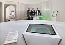 Karlsruhe: Erstes Digitales Bürgerbüro im Rathaus am Marktplatz eröffnet.