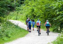 Der Radroutenplaner Thüringen informiert unter anderem über Streckenverläufe.