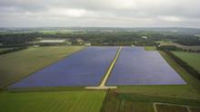 Solarwärmeanlage. Dänemark ist Vorreiter beim Ausbau von regenerativen Wärmenetzen.