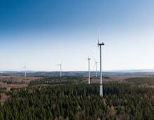 Mit neuen Simulationsmodellen soll die Suche nach geeigneten Standorten für Windkraftanlagen künftig einfacher werden.