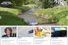 Neu gestaltet ist die Website von Weilerswist.