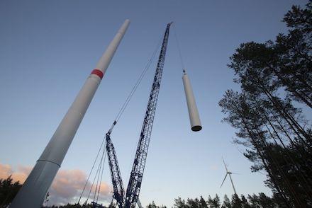 Die Fachagentur Windenergie meldet einen drastischen Einbruch beim Ausbau der Windenergie an Land.