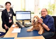 Hunde können bei der Gemeinde Ganderkesee ab sofort online angemeldet werden.