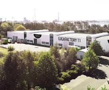Die neue Tesvolt Gigafactory in Wittenberg.