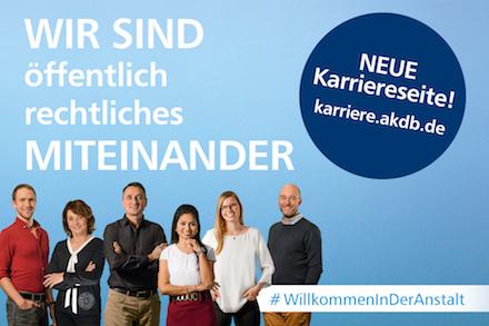 Auf ihrem neuen Karriereportal lässt die Anstalt für Kommunale Datenverarbeitung in Bayern (AKDB) ihre Mitarbeiter zu Wort kommen.