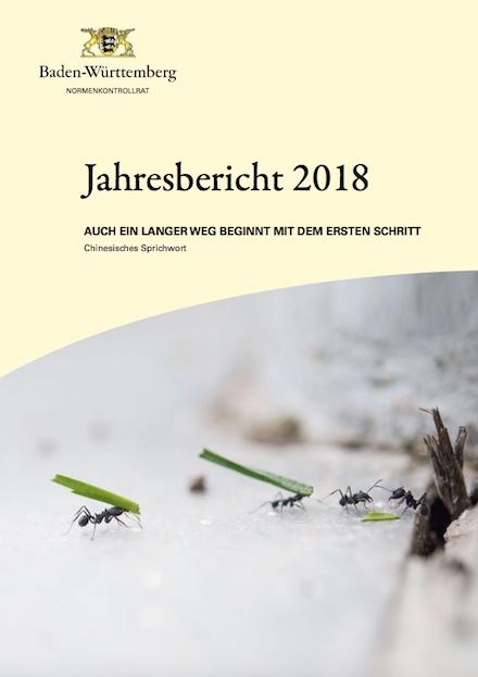 Baden-Württemberg: Der Normenkontrollrat hat seinen ersten Jahresbericht veröffentlicht.