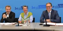 """Berlin: Senat und Rat der Bürgermeister haben den """"Zukunftspakt Verwaltung"""" unterzeichnet."""