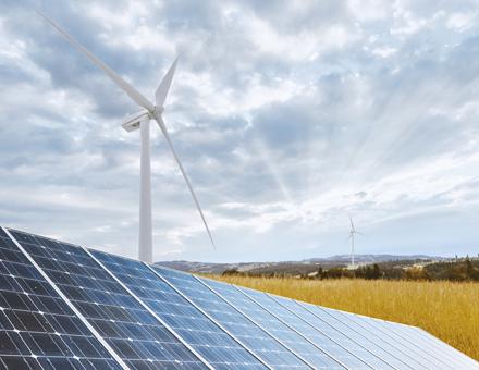 Laut der Studie von Agora Energiewende stieg der Erneuerbaren-Anteil über alle Sektoren.