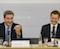 Bayerns Ministerpräsident Markus Söder (l.) und Sachsens Ministerpräsident Michael Kretschmer informieren auf einer Pressekonferenz über die Ergebnisse der gemeinsamen Kabinettssitzung.