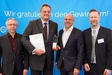 """Mit dem Award in der Kategorie """"Energieeffizienz"""" ist die WSW Energie & Wasser aus Wuppertal prämiert worden."""