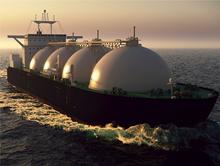 LNG-Tanker: Mit einer Schiffsladung können bis zu 90.000 Haushalte ein Jahr lang mit Gas versorgt werden.