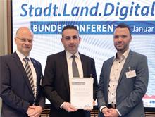 """Projekt """"Smartes Quartier Jena-Lobeda"""" erhält Sonderpreis beim Bundeswettbewerb Stadt.Land.Digital."""