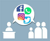 Social Media im Spannungsfeld zwischen Datenschutz und Bürgerdialog.