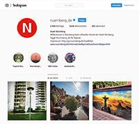 Nürnberg zählt zu den Vorreitern der Instagram-Nutzung.