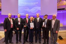 """Hamburgs Pilotprojekt """"Kinderleicht zum Kindergeld"""" wird beim E-Government-Wettbewerb zweifach geehrt."""