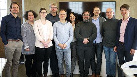 Vertreter des ANDI-Netzwerks (Agiles Netzwerk Digitale Innovation) trafen sich im Wasserturm Stromeyersdorf in Konstanz zum Round-Table-Gespräch mit Kommune21.