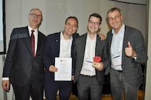 Der 1. Preis des Science Dialogs geht an die Fachhochschule Südwestfalen.