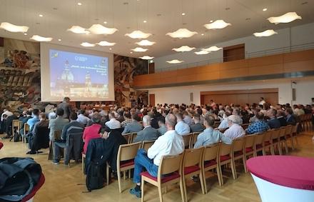 Insgesamt 22 Fachvorträge standen auf dem Programm der Tagung zur Stadt- und Außenbeleuchtung in Dresden.