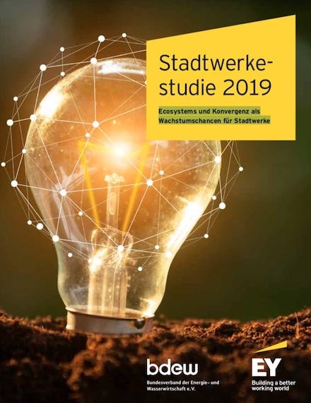 Die Stadtwerkestudie 2019 von EY und BDEW zeigt Chancen für neue Geschäftsmodelle auf.