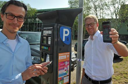 In Bocholt ist jetzt auf allen städtischen Parkflächen Handyparken möglich.