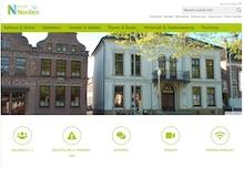 Stadt Norden hat ihre Website grundlegend überarbeitet.