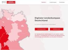 Der Digitale Länderkompass Deutschland nimmt die Digitalpolitik der 16 Bundesländer unter die Lupe.