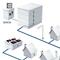 Powerline-Netz: BPL-Headend und -Repeater verbinden Smart Meter Gateways, Mess- und Steuertechnik mit der Leitstelle.