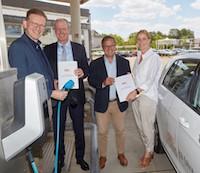 Energieversorgung Mittelrhein stellt Lade-Infrastrukturkonzept vor.