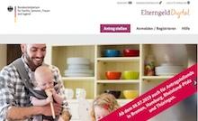 Die Plattform ElterngeldDigital kann seit Anfang Juli in vier weiteren Bundesländern genutzt werden.