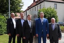 Die krz-Verbandsspitze beglückwünscht die neu ernannten Funktionsträger.
