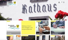 Kreuzau startet mit neuem Internet-Auftritt in die Sommerferien.