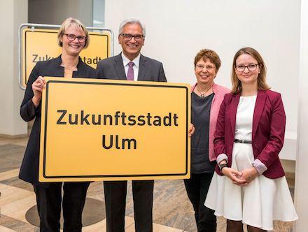 Ulm macht sich auf den Weg zur Zukunftsstadt 2030.