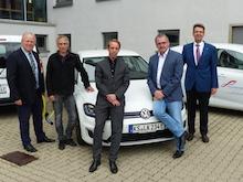 Kreis Kassel übernimmt weitere E-Fahrzeuge in seinen Fuhrpark.