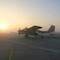 """Das Forschungsflugzeug """"D-IBUF"""" vom Institut für Flugführung der Technischen Universität Braunschweig hat die Veränderungen des Windfeldes hinter Offshore-Windparks aufgezeichnet."""