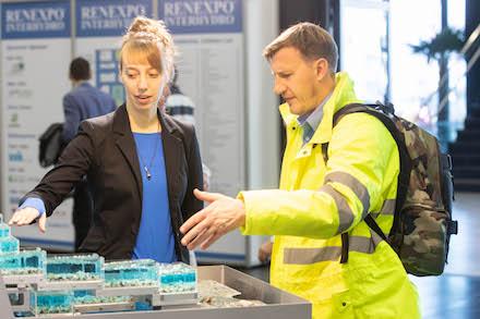 Die RENEXPO Interhydro präsentiert Ende November Neuheiten rund um die Wasserkraft.