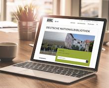 Neue Website der Deutschen Nationalbibliothek ist responsiv, barrierefrei und zweisprachig nutzbar.