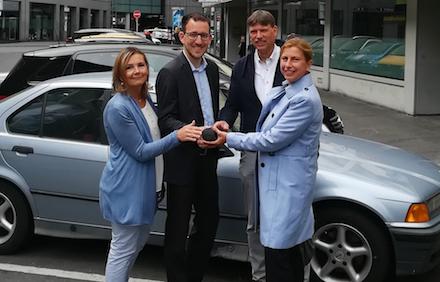Dortmund: Neue Sensortechnik im Bereich Bissenkamp soll Parkraumprognose erhöhen.