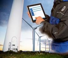 Der TÜV SÜD stellt an seinem Messestand auf der Husum Wind 2019 Mitte September seine neue Lösung zur Verwaltung und Auswertung von Prüfberichten vor.