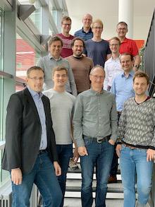 Gruppenbild der SORRiR-Forscher.