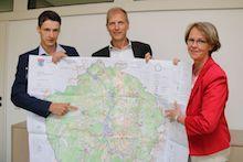 Digitale Lösungen sollen in den niedersächsischen Kommunen an die Stelle von großen Karten treten.