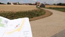 Südlich der bayerischen Gemeinde Maroldsweisach errichtet die EnBW die Übergabestation für den Solarpark Birkenfeld.