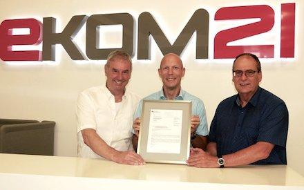IT-Dienstleister ekom21 hat das BSI-Überwachungsaudit erneut bestanden.