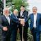 Die längste intelligente Leuchtenstrecke in Rheinland-Pfalz ist eröffnet.