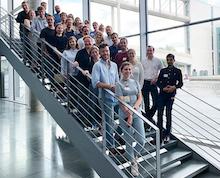 Die Teilnehmenden des E-Government-Fellowship 2019 und das Organisationsteam von Tech4Germany.