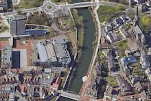 Im GIS-Portal kann die Lüner Innenstadt von oben erkundet werden