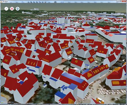 Sindelfingen setzt 3D-Stadtmodell flächendeckend um.